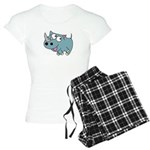 Cute Rhino Women's Light Pajamas