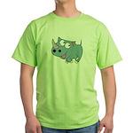 Cute Rhino Green T-Shirt