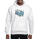 Cute Rhino Hooded Sweatshirt