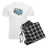 Cute Rhino Men's Light Pajamas