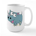 Cute Rhino Large Mug