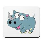 Cute Rhino Mousepad
