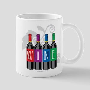 Wine Bottles Mug