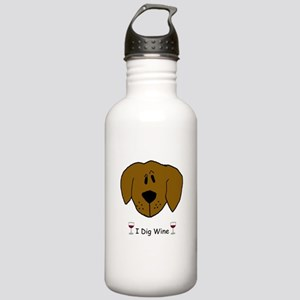 I Dig Wine Stainless Water Bottle 1.0L
