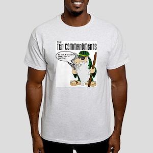 Moses/Ten Commandments Ash Grey T-Shirt