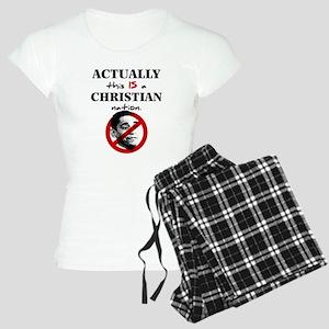 Christian Nation Women's Light Pajamas