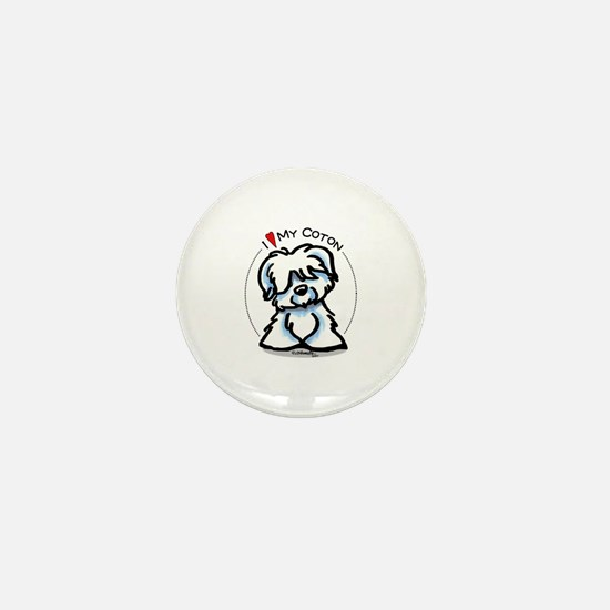 Love my Coton Mini Button
