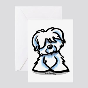 Coton Cartoon Greeting Card