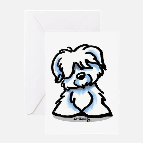 Coton Cartoon Greeting Card