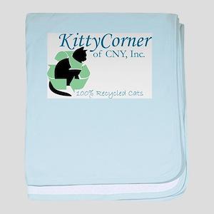 Kitty Corner baby blanket