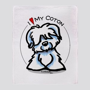 Love my Coton Throw Blanket