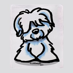 Coton Cartoon Throw Blanket