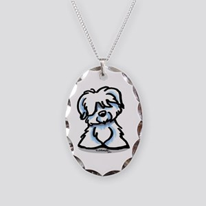Coton Cartoon Necklace Oval Charm