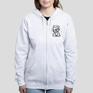 Love my Coton Women's Zip Hoodie