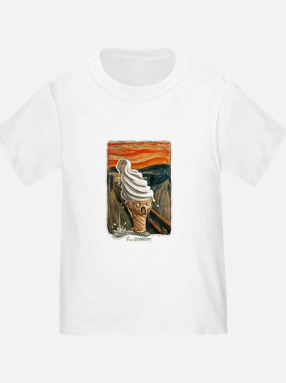 I Scream Ice cream T