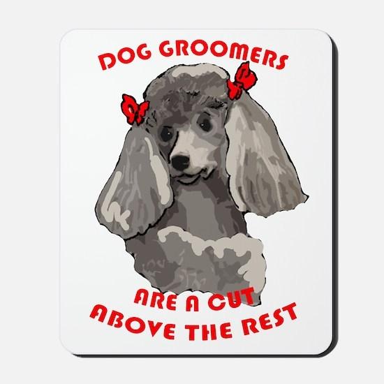 Dog Groomiing Mousepad