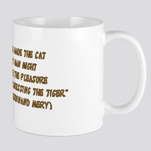 Tiger In Bullrushes Mug