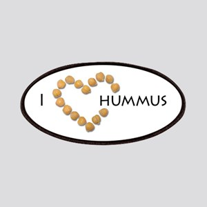 I heart hummus Patches