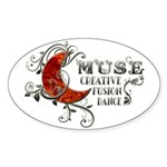 Muse Fusion Sticker (Oval)