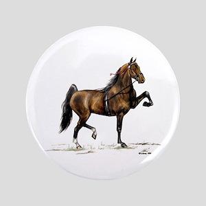 "Hackney Pony 3.5"" Button"