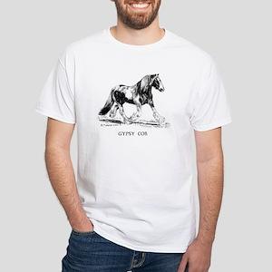 Gypsy Horse White T-Shirt