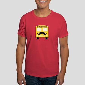 Bustache Bus Mustache Dark T-Shirt