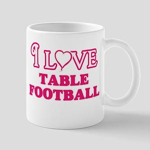 I Love Table Football Mugs