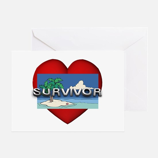 Survivor Love Greeting Card