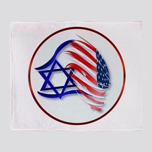 Stand With Israel Throw Blanket