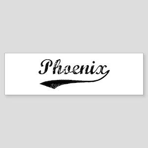 Vintage Phoenix Bumper Sticker