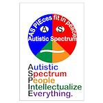 Autistic Spectrum Large Poster