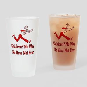 Don't Want Children Pint Glass