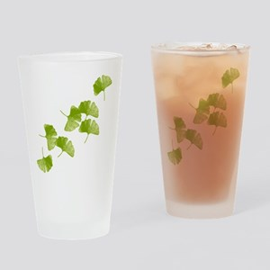 Ginkgo Leaves Drinking Glass