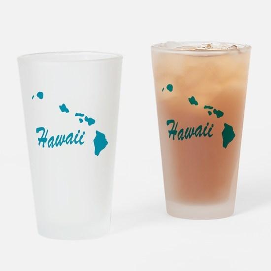State Hawaii Pint Glass