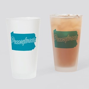 State Pennsylvania Pint Glass