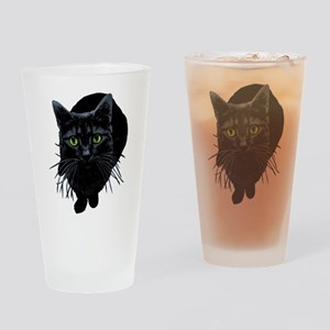 Black Cat Pint Glass