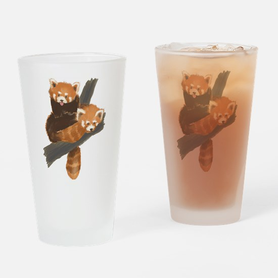Red Pandas Pint Glass