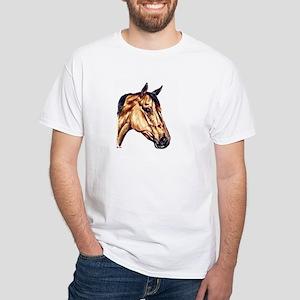 Quarter Horse White T-Shirt