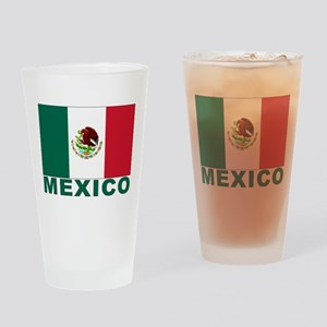 Mexico Flag Pint Glass