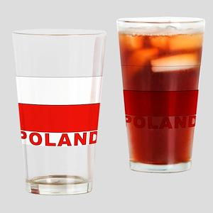 Poland Flag Pint Glass
