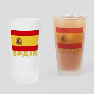 Spain Flag Pint Glass