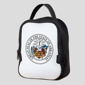 Arkansas State Seal Neoprene Lunch Bag