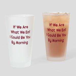 Eat You Pint Glass