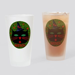 Cat Witch Pint Glass