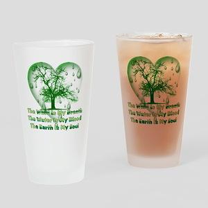 Pagan Treehugger Pint Glass
