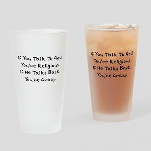 Anti-Religious Humor Pint Glass