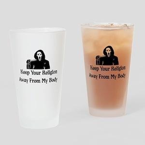 Freethinker Shirt Pint Glass