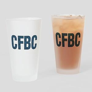 CFBC Blue Logo Pint Glass