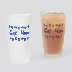 Cat Mom Pint Glass
