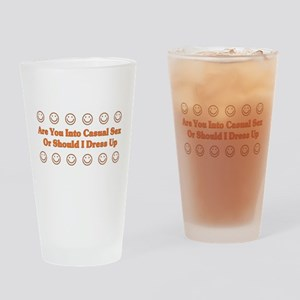 Casual Sex Pint Glass